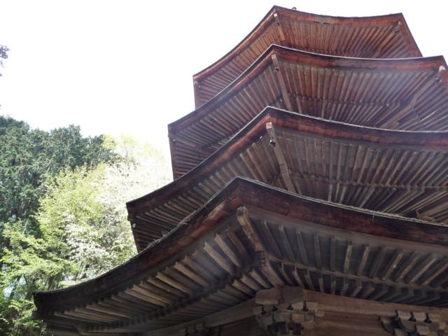 安楽寺・八角塔2
