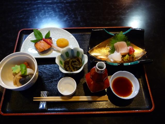 上田温泉 ホテル祥園の夕食1
