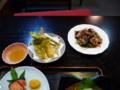 上田温泉 ホテル祥園の夕食2