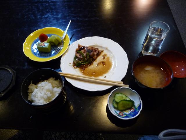 上田温泉 ホテル祥園の夕食3