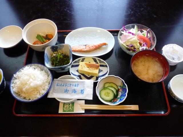 上田温泉 ホテル祥園の朝食