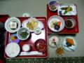 持明院の精進料理・夕食