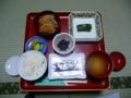 持明院の精進料理・朝食