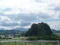 高松塚古墳公園からの風景