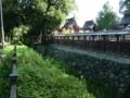 今井町・春日神社の堀