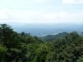 高取城跡からの風景