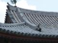 鳳凰堂の飾瓦