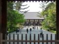 唐招提寺・南大門から眺めた金堂
