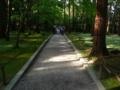 唐招提寺・開山御廟への道