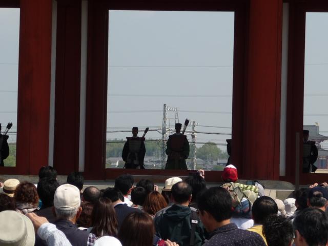 朱雀門・開門の儀式1