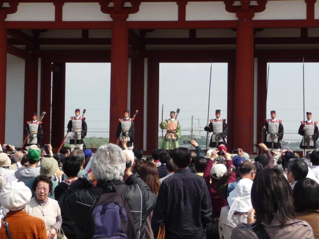 朱雀門・開門の儀式3
