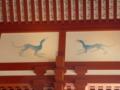 大極殿の壁画・青龍