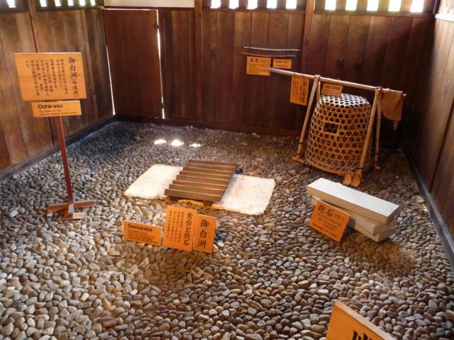 高山陣屋・拷問道具の数々