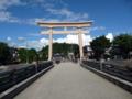 桜山八幡宮の石鳥居