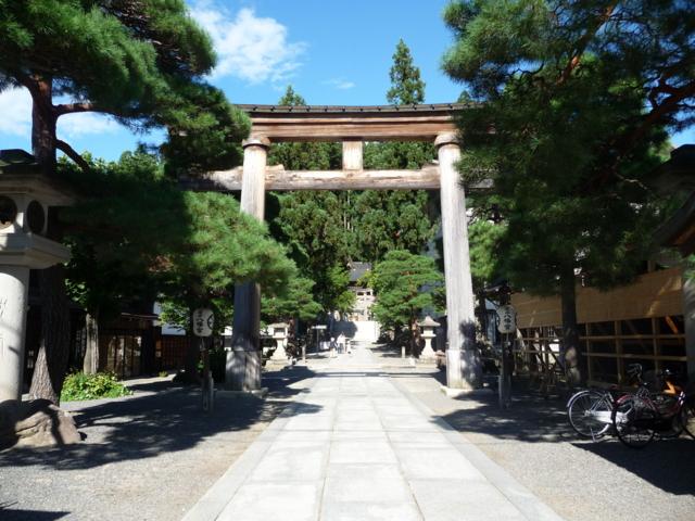 桜山八幡宮の本鳥居
