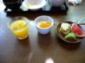 バイキングな朝食・二日目・デザート