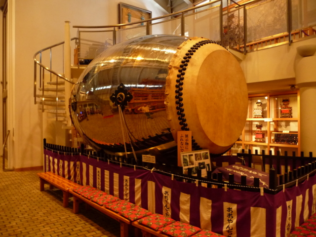 古川祭の大太鼓
