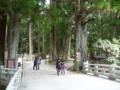 高野山・一ノ橋付近