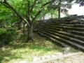和歌山城の石垣付近1