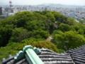 和歌山城天守閣からの風景2
