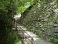 和歌山城の石垣付近2