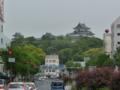和歌山城遠景2