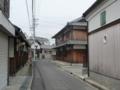 紀州街道・樫井町付近3