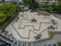岸和田城天守閣の風景2