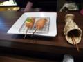 夕食・串かつおまかせコース