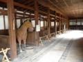 彦根城・馬屋(馬は模型です)