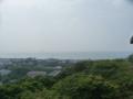 天守閣からみた琵琶湖2
