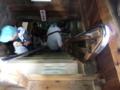 彦根城・天守閣の急な階段