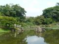 玄宮園の池