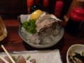 夕食・岩牡蠣