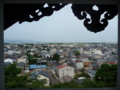 丸岡城からの風景