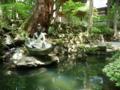 永平寺入り口の池
