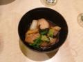 夕食・鴨の治部煮