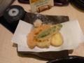 夕食・加賀野菜の天ぷら