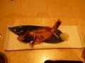 夕食・のどぐろの焼き魚