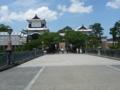 金沢城・石川門付近