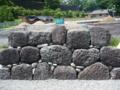 石垣・打ち込みハギ積み