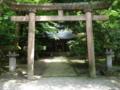 尾山神社の鳥居