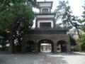 尾山神社・明治風の入口