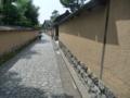 金沢・武家屋敷の通り2