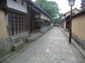 金沢・武家屋敷の通り3