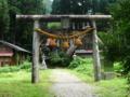 菅沼合掌造り集落内の神社