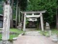 相倉合掌造り集落内の神社