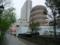 巻貝のような駐車場・仙台にて