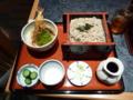 昼食・蕎麦セット