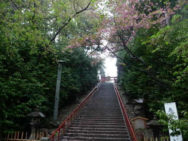 大崎八幡宮・参道の階段